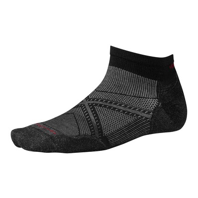 SMARTWOOL - PHD RUN LIGHT ELITE LOW CUT - Socks - black