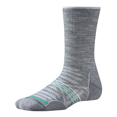 SMARTWOOL - PHD OUTDOOR LIGHT CREW - Socks - Women's - light gray