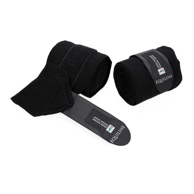 EQUILINE - STABLE - Stable Bandages - black