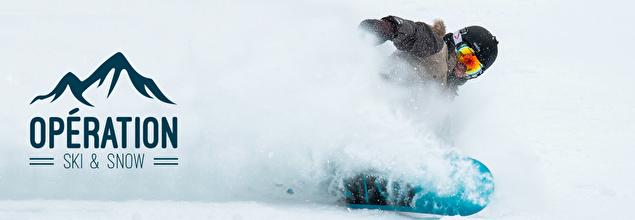 OPERATION SKI & SNOW pas cher chez PRIVATESPORTSHOP