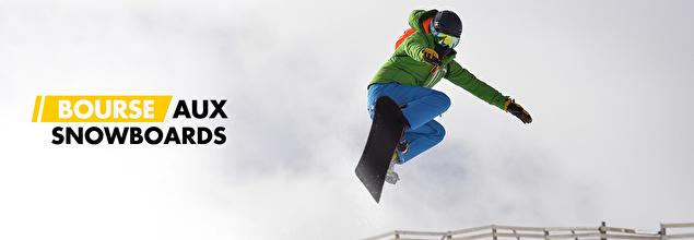 BOURSE AUX SNOWBOARDS en promo sur PRIVATESPORTSHOP